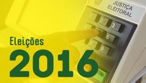 logomarca eleições 2016
