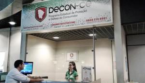 Posto do DECON no Aeroporto Pinto Matins