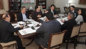 Comissão organizadora do concurso público do MPCE realiza primeira reunião