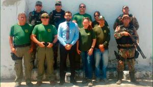 Promotor de Justiça Chagas Neto, da Comarca de Trairi, acompanhou as ações.