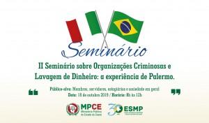 II Seminário sobre Organizações Criminosas e Lavagem de Dinhe