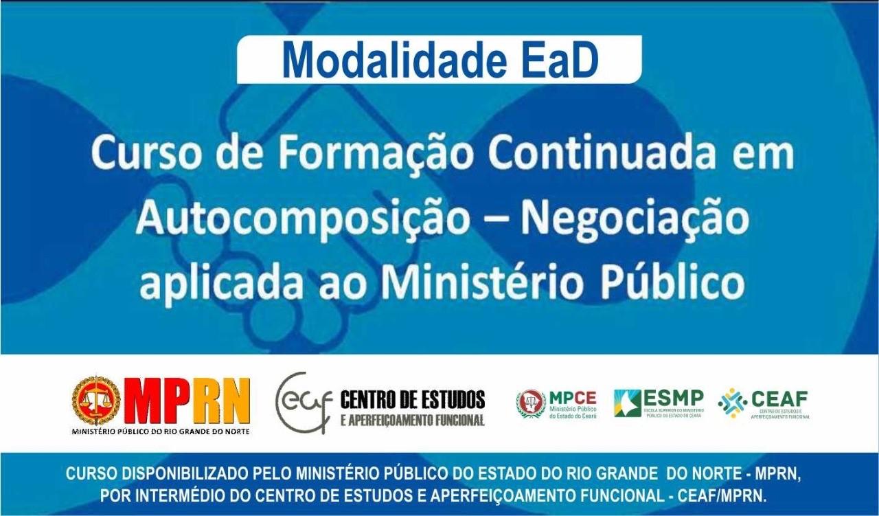 Banner com informações sobre o curso