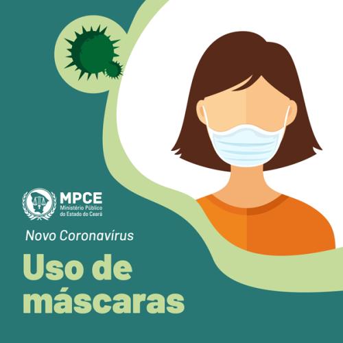 Condições de uso de máscaras