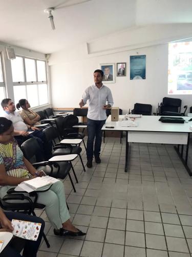 Palestra do Propoa na Secretaria de Saúde de Maracanaú