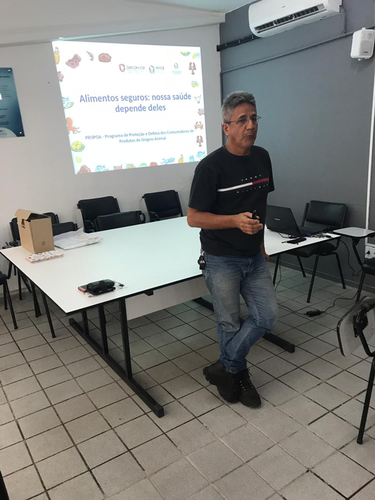 Palestra do PROPOA na Secretaria de Saúde de Maracanaú - 28/11/2019