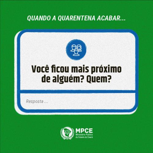 Quarentena - Afeto - MPCE-07