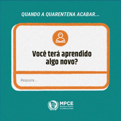 Quarentena - Pessoal e profissional - MPCE-04