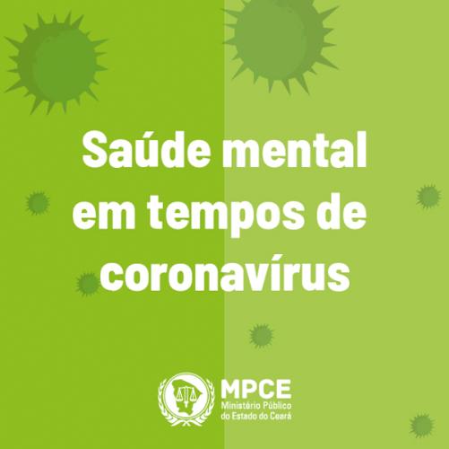 Saúde Mental em tempos de Coronavírus